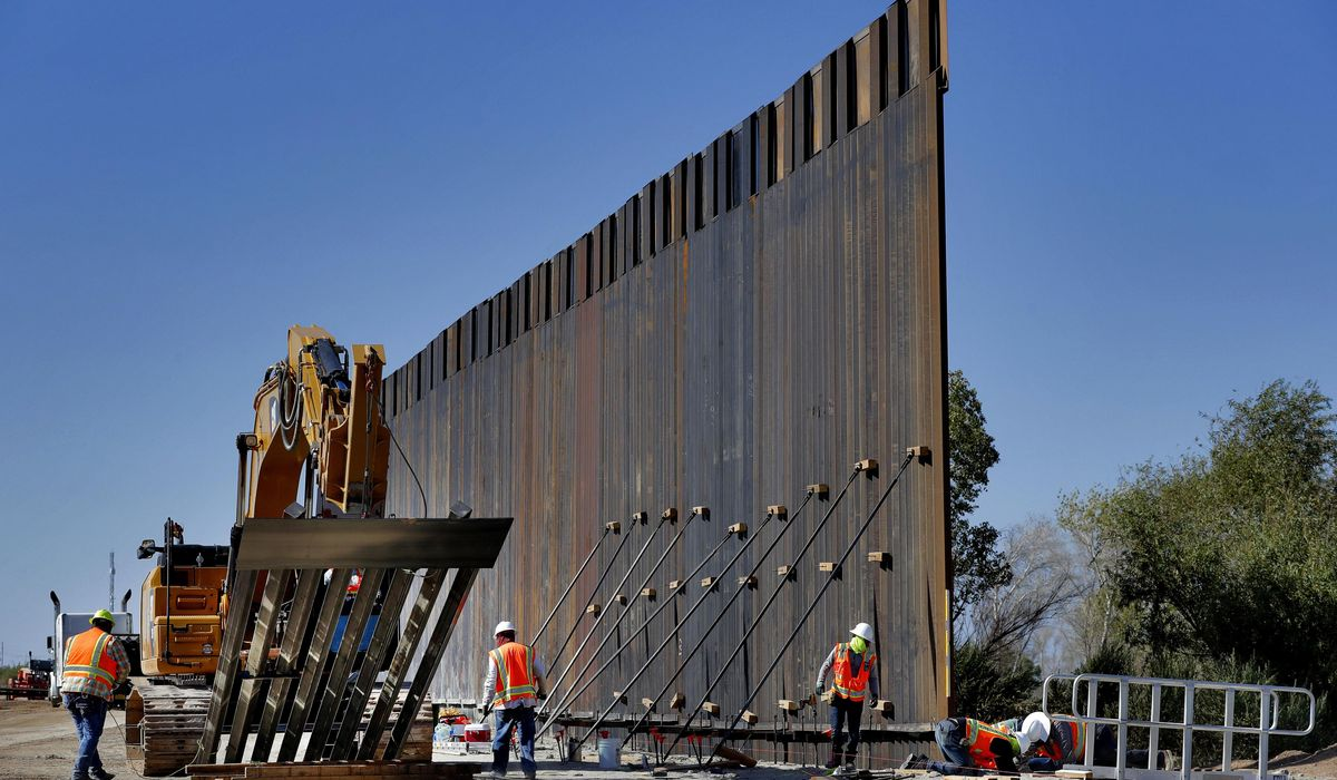 Illegal immigrants exploit border wall construction to gain entry