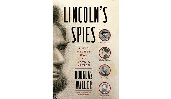 'Lincoln's Spies' (book jacket)