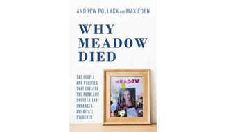 'Why Meadow Died' (book jacket)