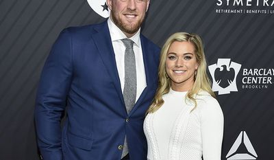 KEALIA OHAI AND J.J. WATT                                                                          