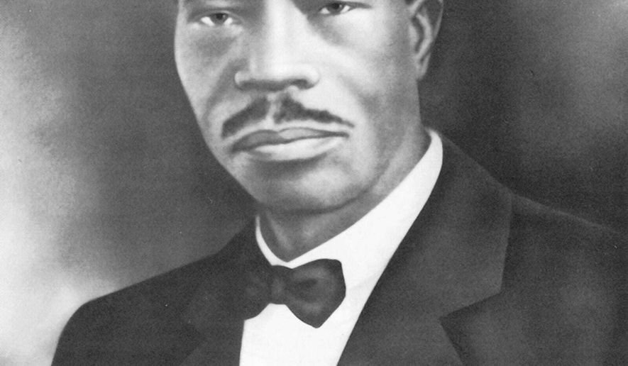 This image provided by the Church of God in Christ, Inc., shows Bishop Charles Harrison Mason the founder of the Church of God in Christ. Today, the denomination founded by Mason, the son of former slaves, is the largest Pentecostal denomination in the United States, with more than 6.5 million members. (Church of God in Christ, Inc., via AP)