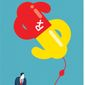 Illustration on drug price gouging by Linas Garsys/The Washington Times