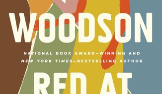 "This cover image released by Riverhead  Books shows ""Red At the Bone,"" by Jacqueline Woodson. (Riverhead Books via AP)"