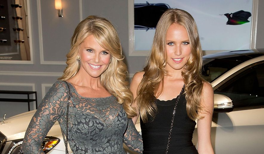 """In this Sept. 4, 2013, file photo, Christie Brinkley and her daughter Sailor Brinkley Cook arrive at the 2013 Style Awards in New York. ABC says in a written statement that Brinkley is unable to continue this season of """"Dancing With the Stars,"""" following surgery to her wrist and arm. The details of her injury were not given. Sailor Brinkley-Cook will replace her mother on the show. Brinkley-Cook is a model who has appeared in Sports Illustrated. (Photo by Ben Hider/Invision/AP, File)"""