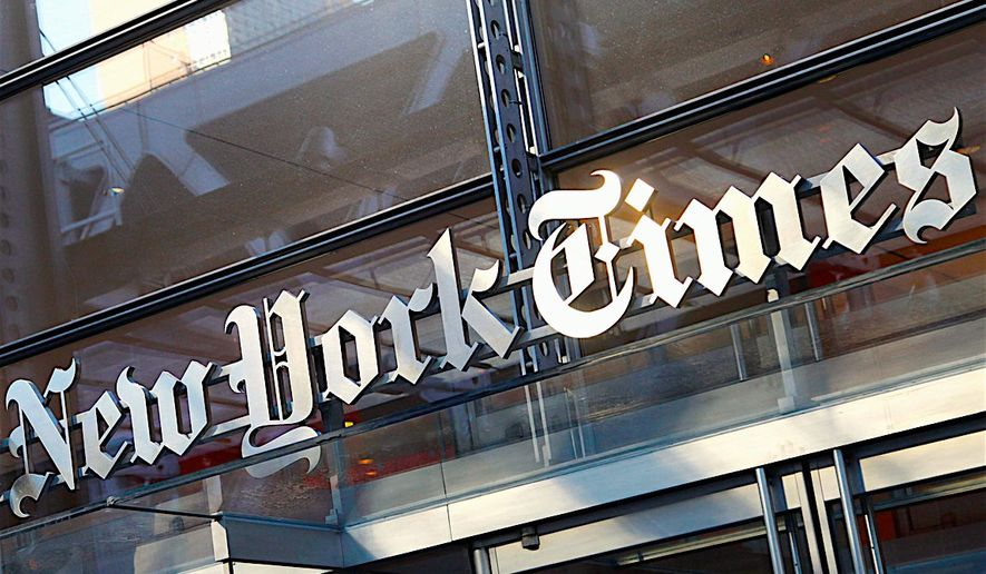 """The New York Times is now under scrutiny by multiple news organizations for its """"botched"""" report about Supreme Court Justice Brett M. Kavanaugh, which accused him of sexual misconduct. (Associated Press)"""