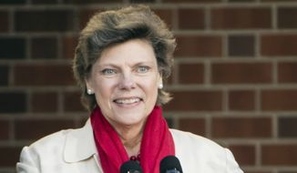 In this April 19, 2017, file photo, Cokie Roberts speaks during the opening ceremony for Museum of the American Revolution in Philadelphia. Roberts, a longtime political reporter and analyst at ABC News and NPR, has died, ABC announced Tuesday, Sept. 17, 2019. She was 75. (AP Photo/Matt Rourke)