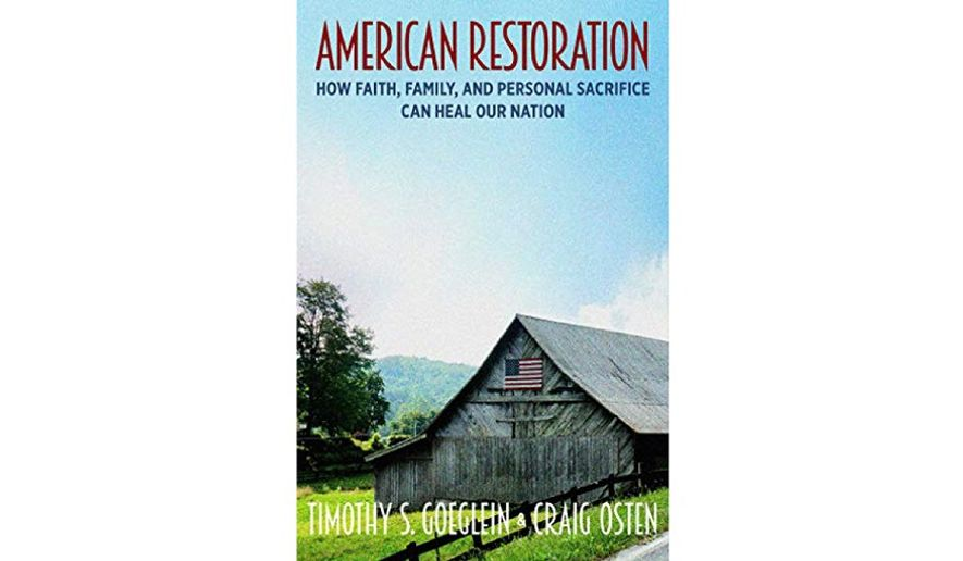 Did American Restoration Get Cancelled >> Book Review American Restoration Washington Times