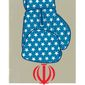 Trump Iran action illustration by Linas Garsys