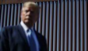 President Donald Trump tours a section of the southern border wall, Wednesday, Sept. 18, 2019, in Otay Mesa, Calif. (AP Photo/Evan Vucci) **FILE**