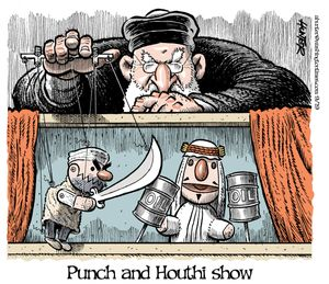 Punch and Houthi show
