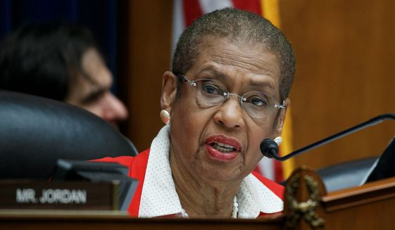 Eleanor Holmes Norton is District of Columbia's delegate in the House. She can participate in committee business, but can't vote on bills or resolutions. (Associated Press) **FILE**