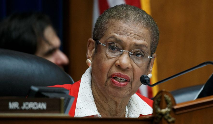 Eleanor Holmes Norton is District of Columbia's delegate in the House. She can participate in committee business, but can't vote on bills or resolutions. (Associated Press)