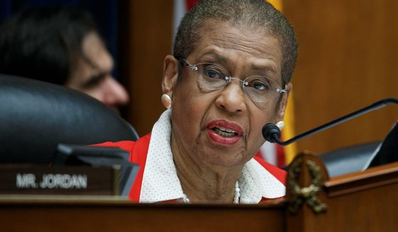 Eleanor Holmes Norton is District of Columbia's delegate in the House. She can participate in committee business, but can't vote on bills or resolutions.