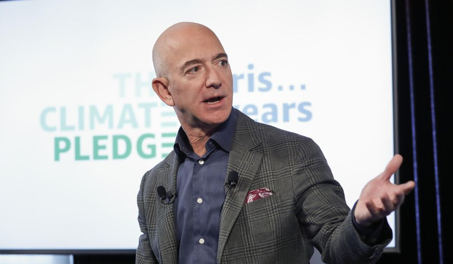 Amazon CEO Jeff Bezos and his companies have been the target of verbal attacks by the president. (Associated Press/File)