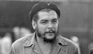 "This June 12, 1962, photo shows Cuban revolutionary leader Ernesto ""Che"" Guevara in Havana, Cuba.  (AP Photo/Tony Ortega) ** FILE **"