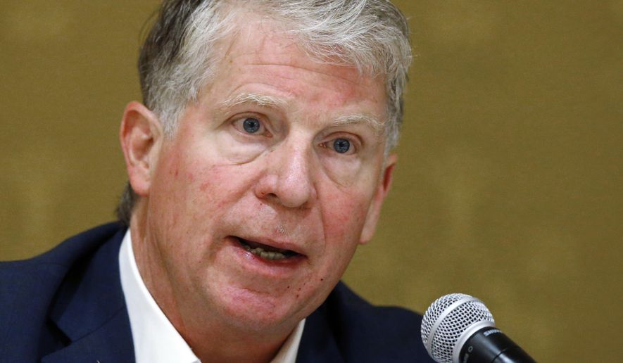 In this Thursday, Sept. 27, 2018, file photo, Manhattan District Attorney Cyrus Vance speaks during a discussion in Salt Lake City. (AP Photo/Rick Bowmer, File)