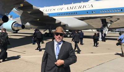 Veteran talk radio host Michael Savage took a ride on Air Force One with President Trump this week and walked away with an optimistic future for both the president and the nation. (Image courtesy of Michael Savage)