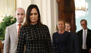 White House press secretary Stephanie Grisham walks into the East Room of the White House. (AP Photo/Patrick Semansky) ** FILE **
