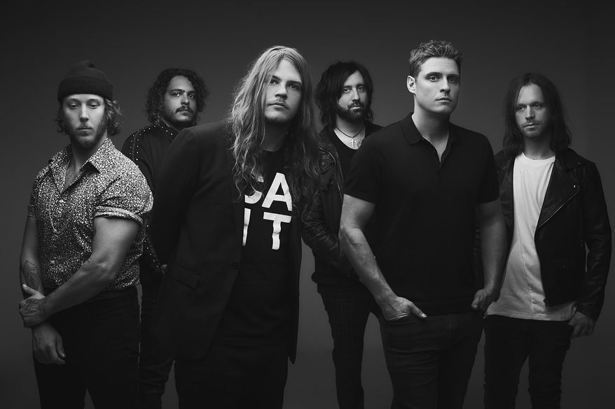 The Glorious Sons band (Photo courtesy of Jonathan Weiner)
