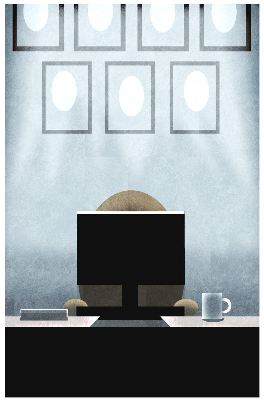 Illustration on  mentors by Alexander Hunter/The Washington Times