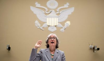 """""""We have a need to address the epidemic of youth use of e-cigarettes And this current outbreak reinforces the need to address the broader youth e-cigarette epidemic,"""" Dr. Anne Schuchat, the CDC's principal deputy director, testified. (ASSOCIATED PRESS PHOTOGRAPHS)"""