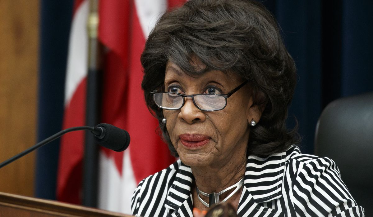 Maxine Waters defends Crips, Bloods 'in the 'hood' as having more integrity than Trump