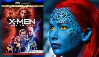 "Jennifer Lawrence as Mystique in ""X-Men: Dark Phoenix: Ultimate Collector's Edition,"" now available on 4K Ultra HD from 20th Century Fox Home Entertainment."