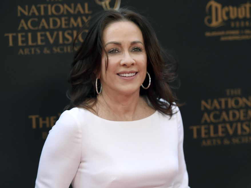 In this April 29, 2016, file photo, Patricia Heaton arrives at the Daytime Creative Arts Emmy Awards at the Westin Bonaventure Hotel in Los Angeles. (Photo by Chris Pizzello/Invision/AP, File)
