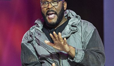 Film maker Tyler Perry lived out of his car when he was a struggling playwright in Atlanta.