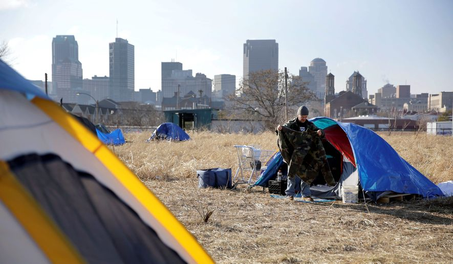 Demographic experts say long-term economic and societal trends are fueling the divide between rich and poor in the United States. The gap is the largest in more than 50 years of tracking income inequality, according to the U.S. Census Bureau. (ASSOCIATED PRESS)