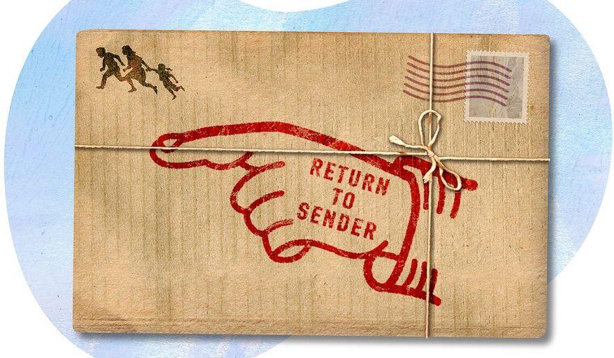 Alien Return Illustration by Greg Groesch/The Washington Times