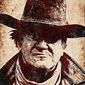 Illustration of John Wayne as Rooster Cogburn by Greg Groesch/The Washington Times