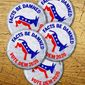 Democrat Campaign Buttons Illustration by Greg Groesch/The Washington Times
