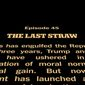 "The New York Times' opinion section covered President Trump using a ""Star Wars""-inspired opening crawl, Sept. 26, 2019. (Image: Twitter, New York Times Opinion, video embed)"