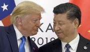 In this June 29, 2019, file photo, U.S. President Donald Trump, left, meets with Chinese President Xi Jinping during a meeting on the sidelines of the G-20 summit in Osaka, western Japan.  (AP Photo/Susan Walsh, File) **FILE**
