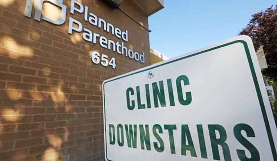 David Daleiden and Sandra Merritt, two pro-life activists, in 2015 posted online videos of Planned Parenthood workers and officials discussing fetal tissue sales, an outlawed practice. Planned Parenthood filed the federal lawsuit against them in 2016. (ASSOCIATED PRESS)