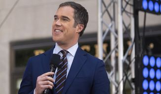 Peter Alexander appears on NBC's Today show at Rockefeller Plaza on Friday, July 12, 2019, in New York. (Photo by Charles Sykes/Invision/AP)