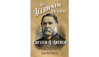 """'The Accidental President"""" (book jacket)"""