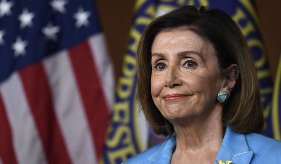 House Speaker Nancy Pelosi of Calif., during a news conference on Capitol Hill in Washington, Wednesday, Oct. 2, 2019 (AP Photo/Susan Walsh)