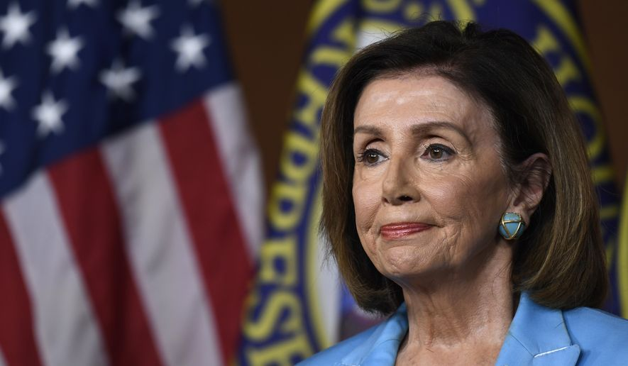 House Speaker Nancy Pelosi of California, during a news conference on Capitol Hill in Washington, Wednesday, Oct. 2, 2019 (AP Photo/Susan Walsh)