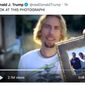 "President Trump shares a parody of the Nickelback music video ""Photograph,"" which includes a 2014 photo of former Vice President Joseph R. Biden with his son and natural gas executive Devon Archer. Mr. Archer served on served on the board of the Burisma Holdings with Hunter Biden. (Image: Twitter, President Trump, video parody)"