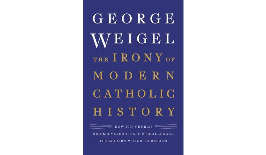 'The Irony of Modern Catholic History' (book jacket)