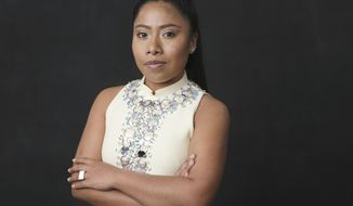 "FILE - In this Feb. 4, 2019 file photo, Yalitza Aparicio, nominated for an Oscar for best actress for her role in ""Roma,"" poses for a portrait at the 91st Academy Awards Nominees Luncheon in Beverly Hills, Calif. The United Nations' cultural agency UNESCO is appointing Friday Oct. 4, 2019 Mexican actress Yalitza Aparicio as its Goodwill ambassador for the indigenous peoples.(Photo by Chris Pizzello/Invision/AP, File)"