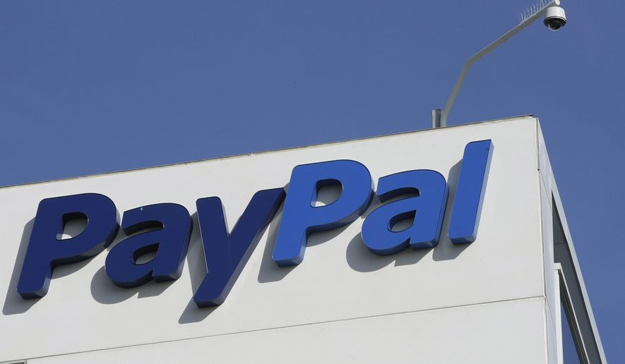 This Wednesday, Jan. 19, 2011 file photo shows an exterior view of eBay/PayPal offices in San Jose, Calif. (AP Photo/Paul Sakuma, File)