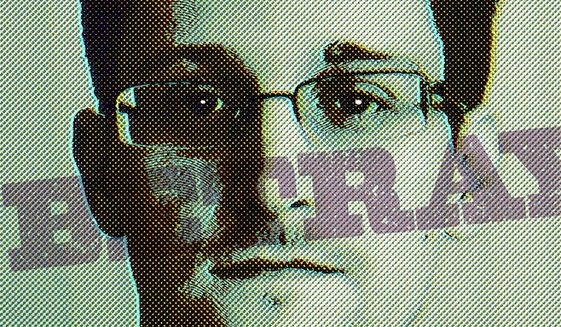 American Betrayal by Snowden Illustration by Greg Groesch/The Washington Times
