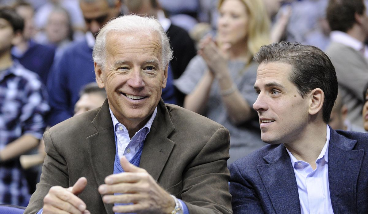 Treasury reports rebut Biden's 'totally false' claims about Hunter's cash haul