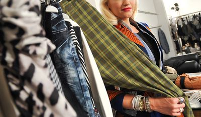 Musician Gwen Stefani launched her own clothing line L.A.M.B in 2004