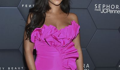 Singer Rihanna arrives at the Fenty Beauty by Rihanna one year anniversary party at Sephora inside JCPenney at Kings Plaza Shopping Center on Friday, Sept. 14, 2018, in New York. (Photo by Evan Agostini/Invision/AP)