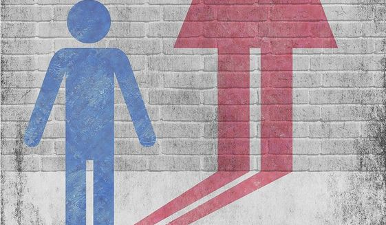 Gender Confusion Illustration by Greg Groesch/The Washington Times