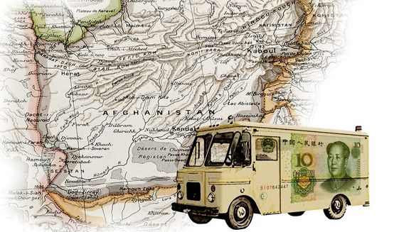 Departing Afghanistan Illustration by Greg Groesch/The Washington Times